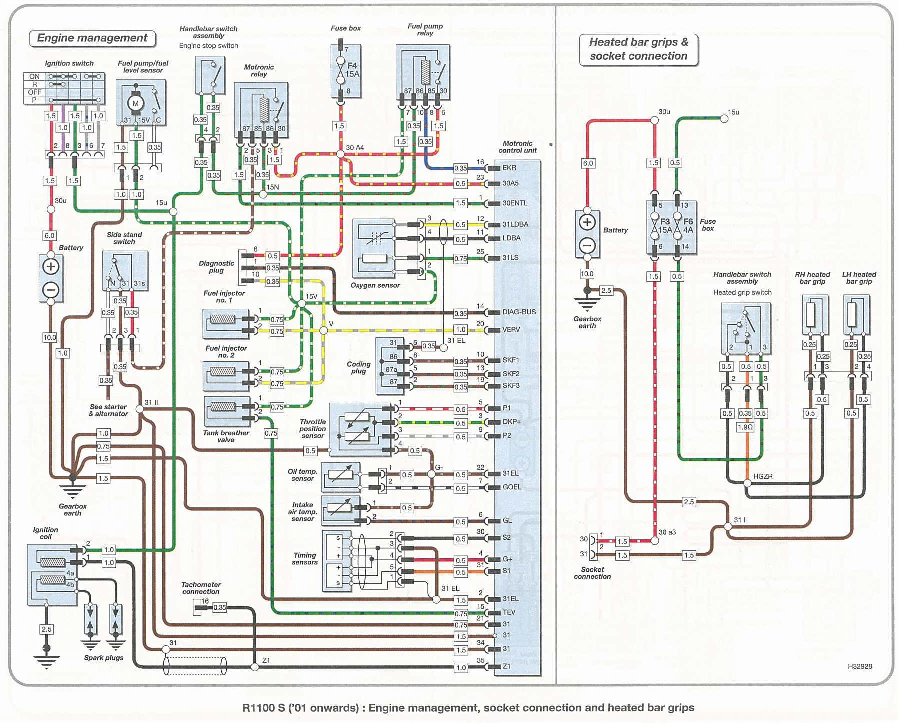 Bmw R1100s Wiring Diagram Bmw Wiring Diagrams Instruction – K1300s Wiring Diagram
